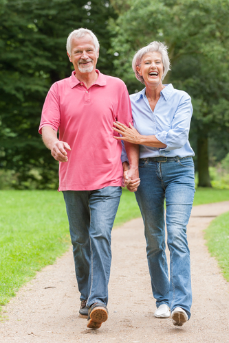elderly walking therapy